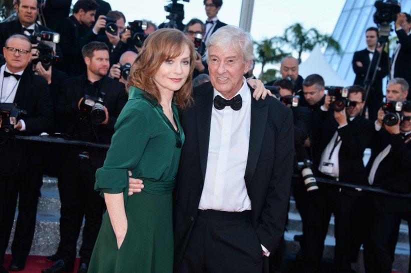 Isabelle Huppert et Paul Verhoeven, duo complice sur tapis rouge
