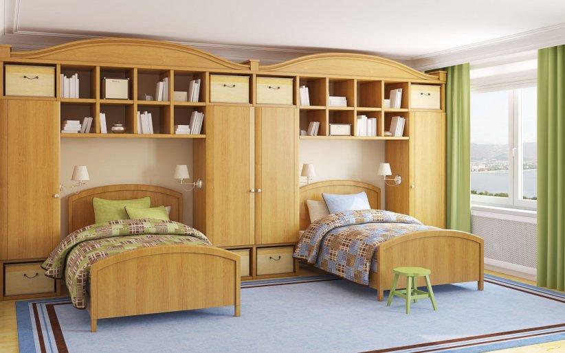 D co dix inspirations pour une chambre d 39 enfants mixte for Amenager une chambre pour deux enfants