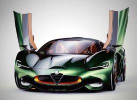 Alfa Romeo Furia par Breshke Design
