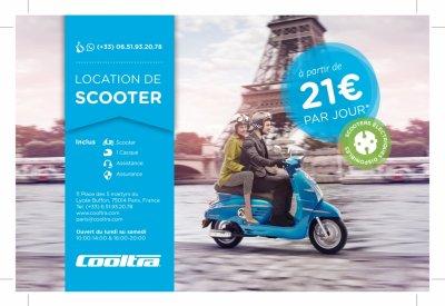 Cooltra : des scooters et motos électriques à louer à Paris