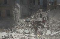En Syrie, raids aériens sur Alep et Atareb