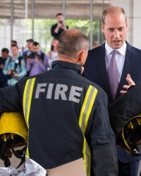 Incendie de Londres : le prince William casse le protocole !