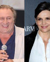 Gérard Depardieu et Juliette Binoche bientôt réunis à l'écran