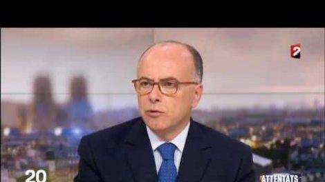bernard cazeneuve au jt de france 2 le ministre de lintrieur se veut rassurant sur orange vidos