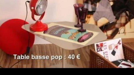 Vidéo : customiser une table basse façon pop art sur Orange Vidéos
