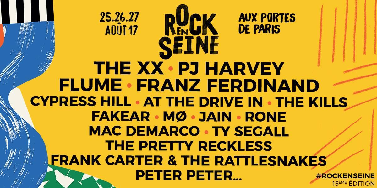 Les premiers noms dévoilés — Rock en Seine