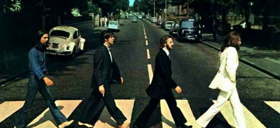 "Beatles : le passage piéton d'""Abbey Road"" débarque à Paris"