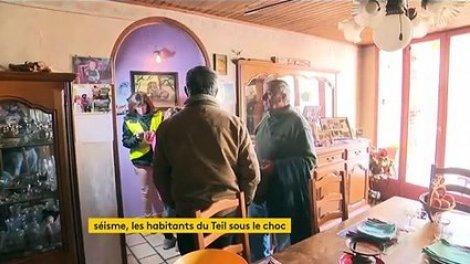 Ardèche : la commune du Teil toujours sous le choc après le séisme - Actu Orange