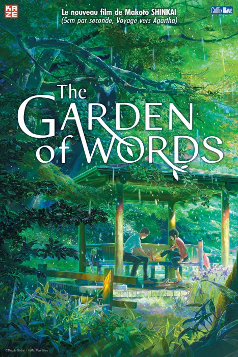 The Garden of Words : Affiche