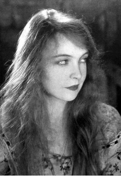 Le Vent : photo Lillian Gish, Victor Sjöstrom