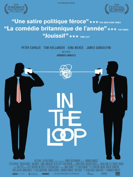 In the Loop : affiche Armando Iannucci