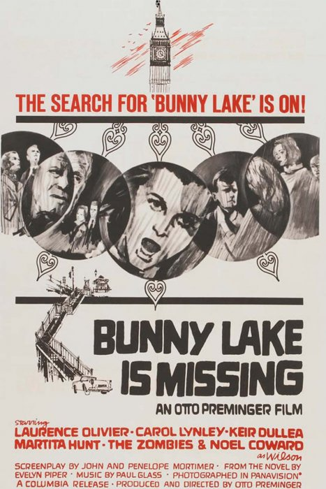 Bunny Lake a disparu : Affiche
