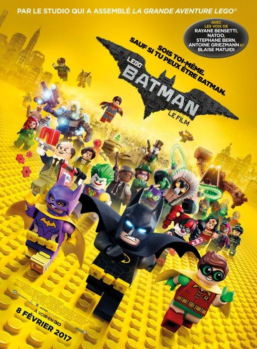 Lego Batman, Le Film : Affiche
