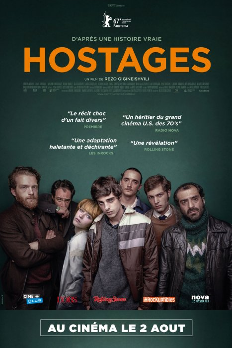 Hostages : Affiche