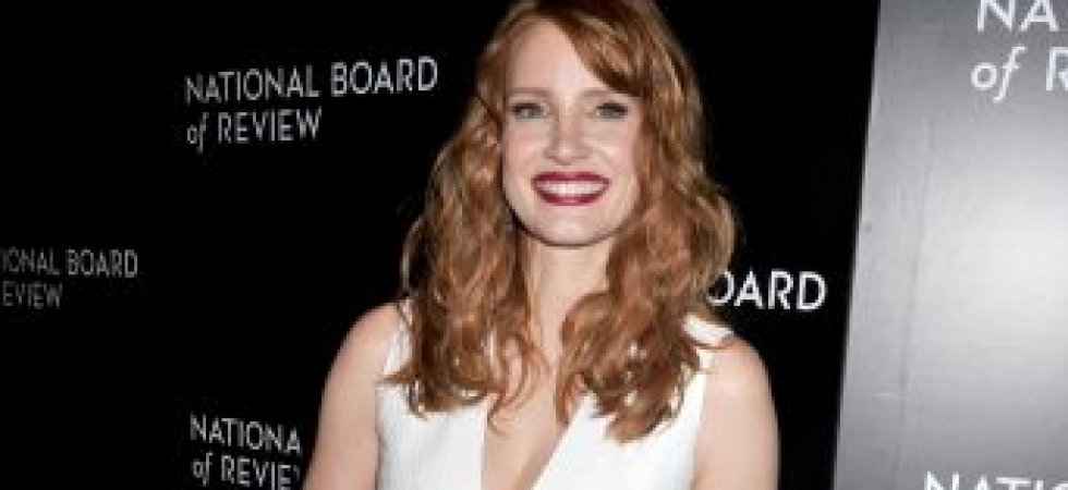 Jessica Chastain, pure en robe blanche