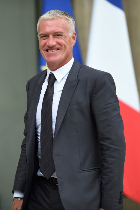 Didier Deschamps assiste à un repas organisé à l\