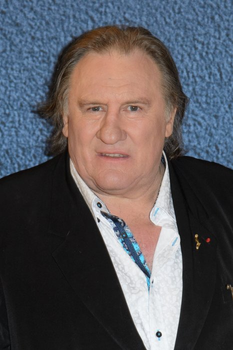 Gérard Depardieu en marge du 69e Festival International du Film de Cannes, le 15 mai 2016.