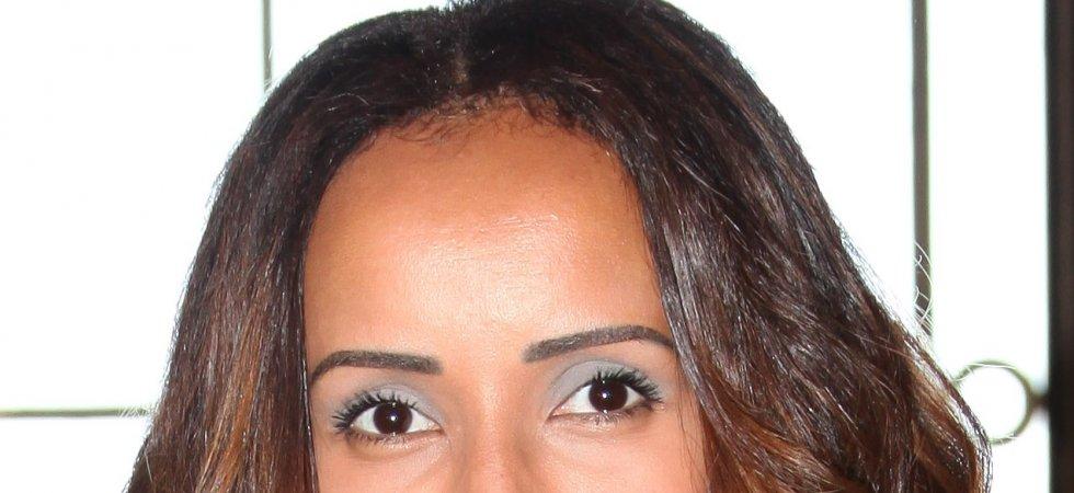 Sonia Rolland, son make-up coloré pour le défilé Guy Laroche