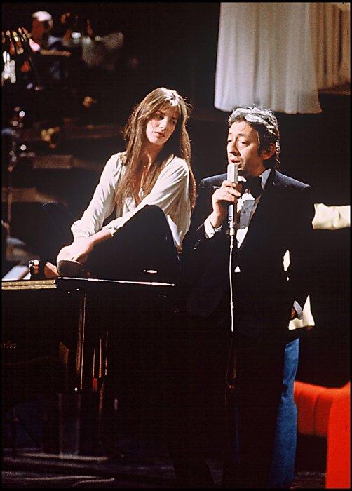 Jane Birkin et Serge Gainsbourg ont formé le couple emblématique des années 1970.