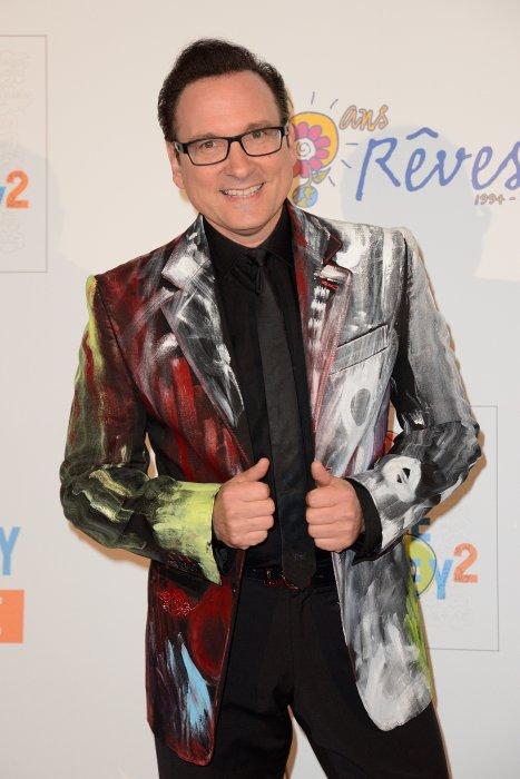 """Jean-Marc Généreux assiste au concert """"We Love Disney 2"""" au Grand Rex à Paris, le 3 novembre 2014."""