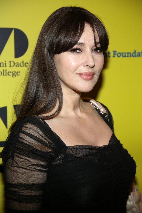 Monica Bellucci lors du Festival du Film International de Miami, le 8 mars 2016.