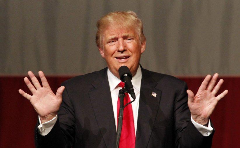 Donald Trump lors d\