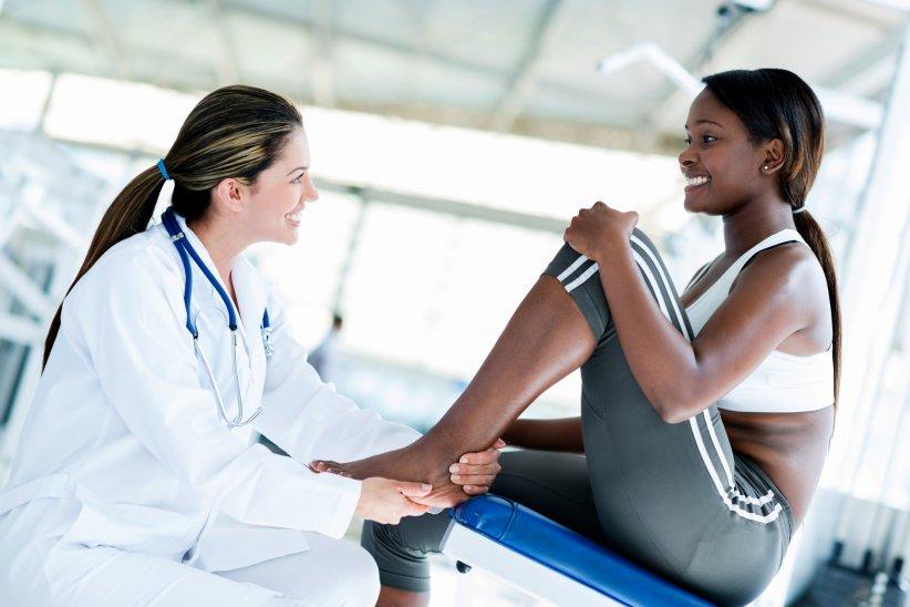Un check-up chez le médecin