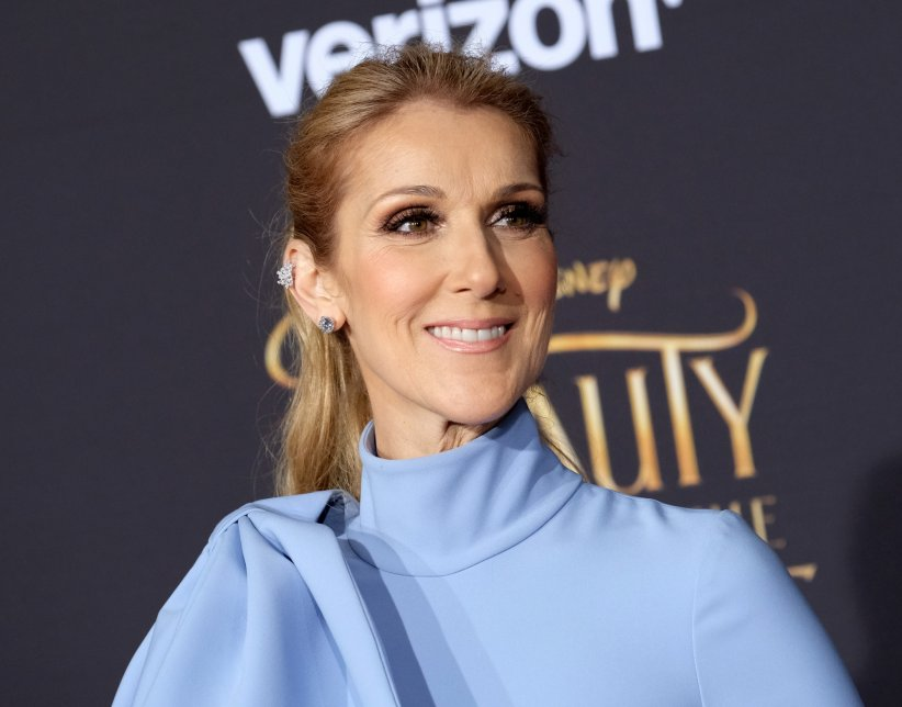 "Céline Dion à la première de ""Beauty and the Beast"" au théâtre El Capitan à Hollywood, le 2 mars 2017."