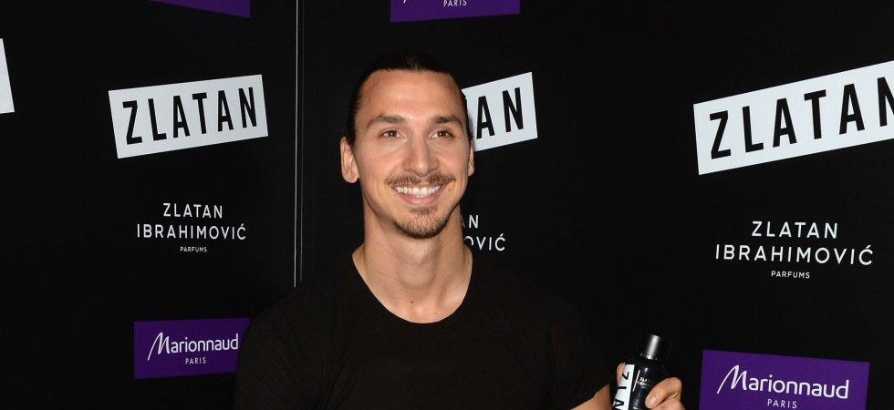Zlatan Ibrahimović a enflammé les Champs-Elysées pour le lancement de son parfum