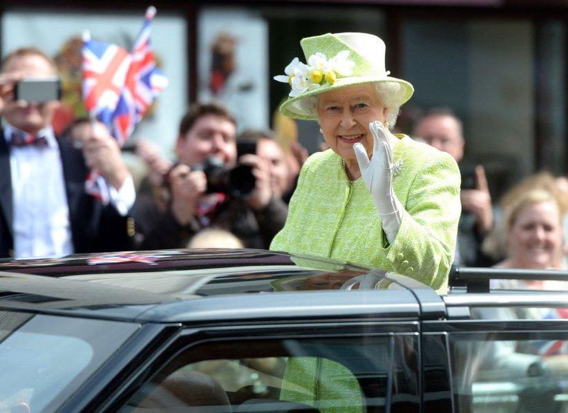 Elizabeth II a 90 ans !