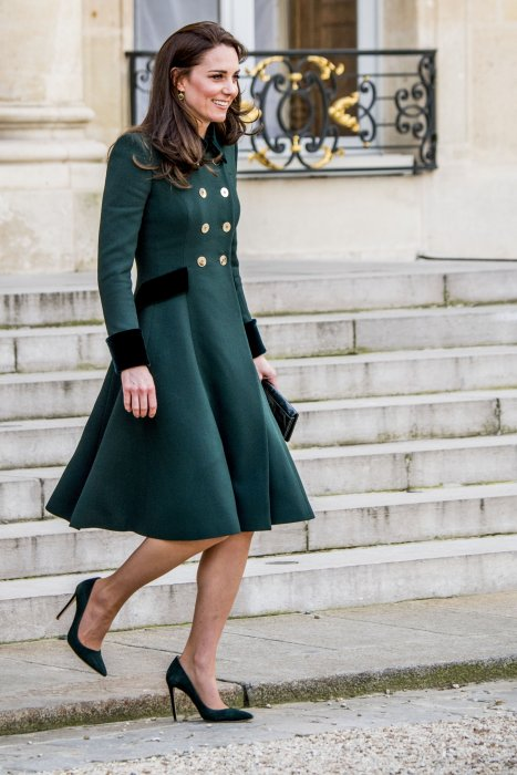 Kate Middleton quitte le palais de l\