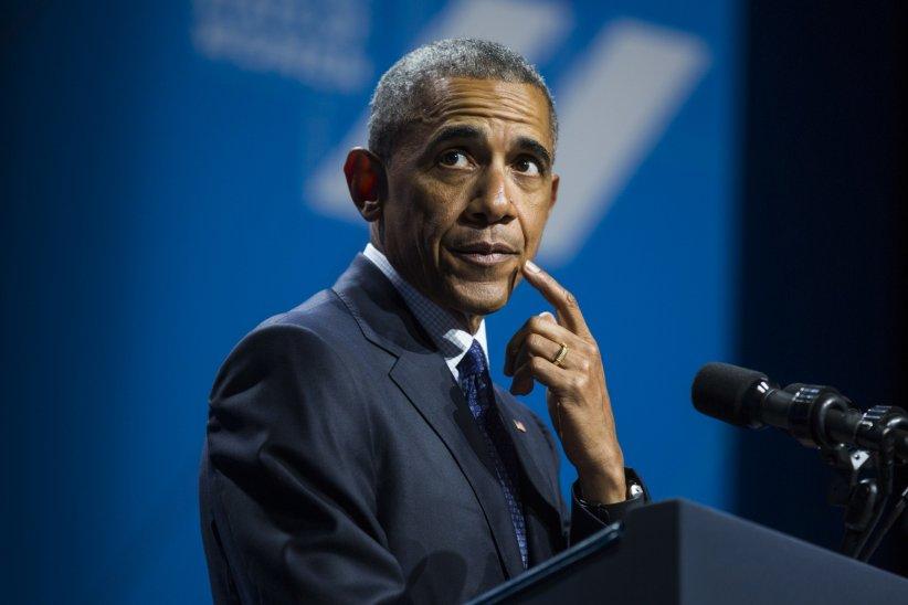 Barack Obama donne un discours lors du premier sommet consacré à la femme américaine à Washington, le 14 juin 2016.