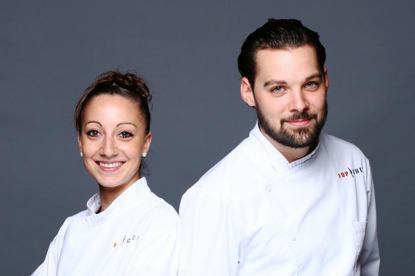 Coline et Xavier sont les finalistes de la 7e saison de Top Chef, diffusée lundi 18 avril 2016 sur M6.
