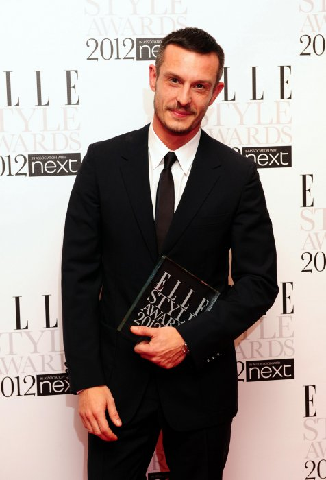 Jonathan Saunders aux ELLE Style Awards, le 13 février 2012 à Londres.