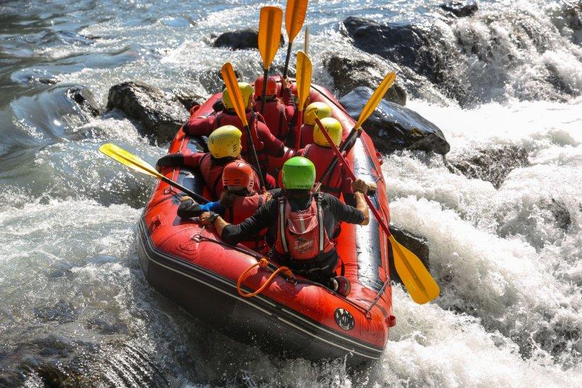 Le rafting : familial et sportif !