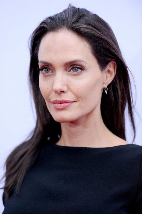 Angelina Jolie pendant la première de  Kung Fu Panda 3 , à Los Angeles le 16 janvier 2016.