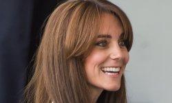 Kate Middleton dévoile sa frange