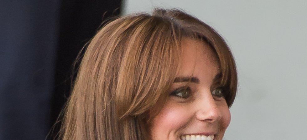 Kate Middleton dévoile sa nouvelle frange !