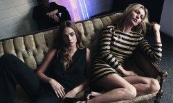 Cara Delevingne et Kate Moss pour Mango