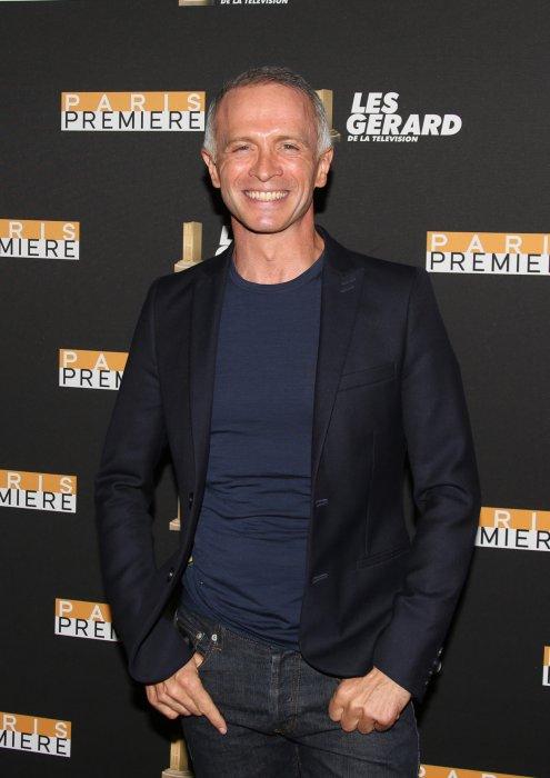 Samuel Etienne assiste à la 10e cérémonie des Gérard de la Télévision à Paris, le 30 mai 2016.