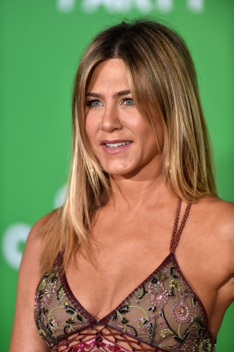 "Jennifer Aniston à la première du film ""Office Christmas Party"" à Los Angeles, le 7 décembre 2016."