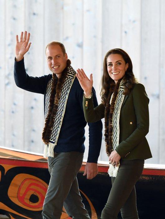 Kate Middleton et le prince William visitent l\