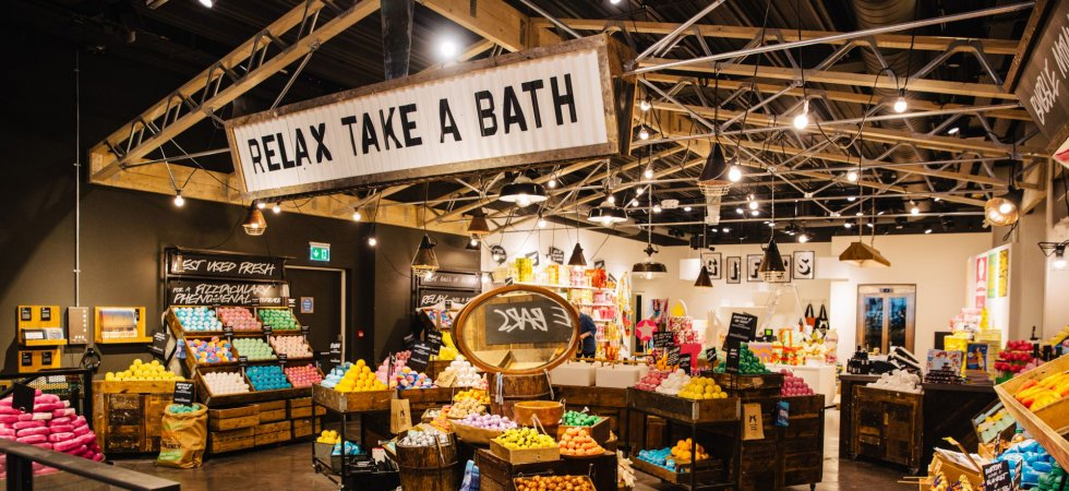 Lush ouvre son plus grand magasin sur Oxford Street