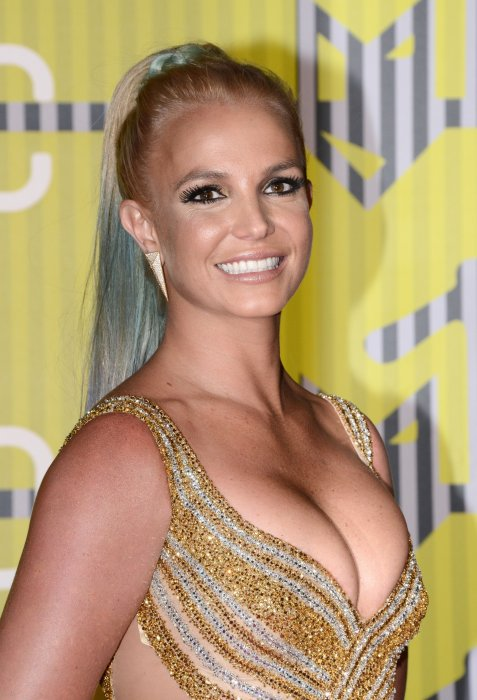 Britney Spears lors des MTV Video Music Awards à Los Angeles, le 30 août 2015.