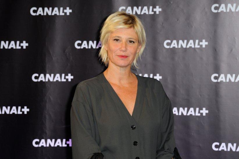 """Maïtena Biraben assiste à la soirée Canal Plus organisé au club """"Electric"""" à Paris, le 28 août 2013."""