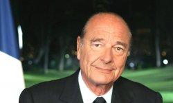 Jacques Chirac vit un