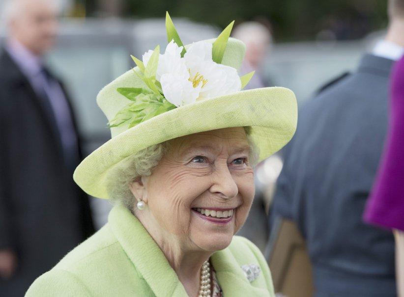 Elisabeth II en visite officielle en Irlande du Nord, le 28 juin 2016.