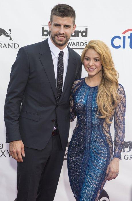 Gérard Piqué et Shakira assistent aux Billboard Music Awards à Las Vegas, le 18 mai 2014.