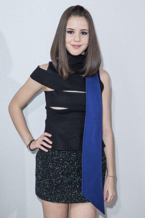 Marina Kaye sur le photocall d\