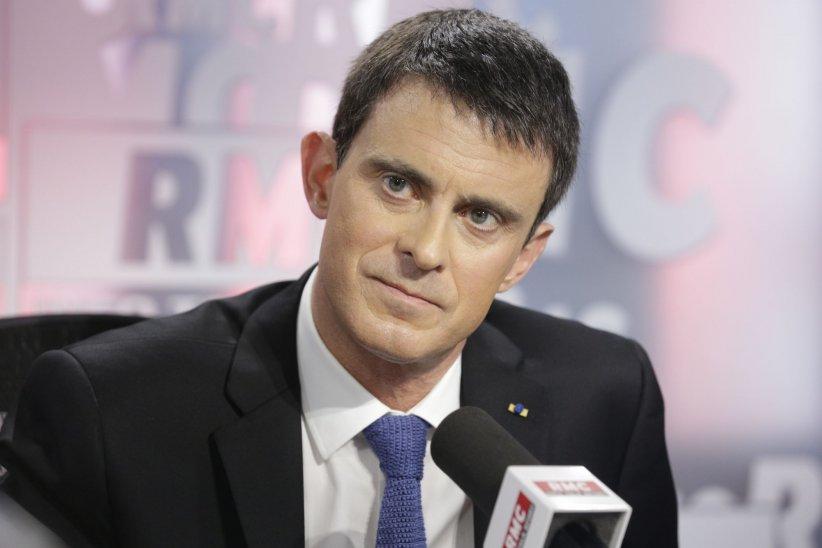 Manuel Valls, lors d\